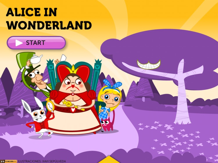 ALICE'S ADVENTURES IN WONDERLAND HD. ITBOOK STORY