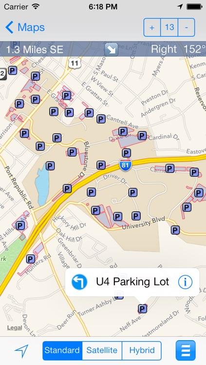 eMap JMU : James Madison University screenshot-4