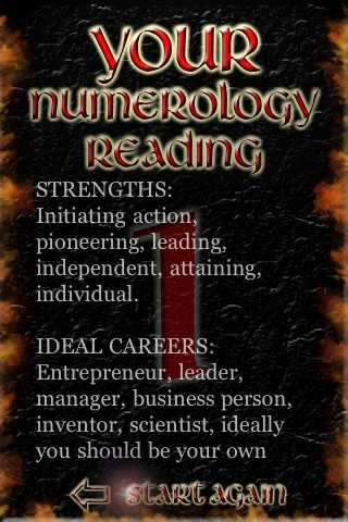 A FREE Numerology Reading
