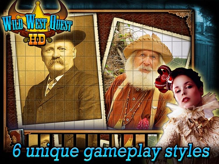 Wild West Quest HD screenshot-3