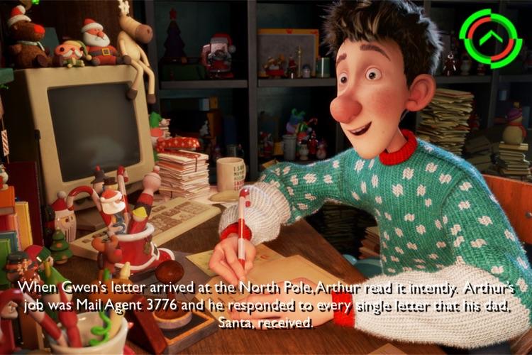 Arthur Christmas Movie Storybook