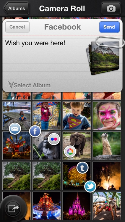 Big Camera Button - Tap anywhere to take a photo screenshot-4