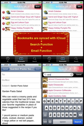 Diabetic Food Recipes review screenshots