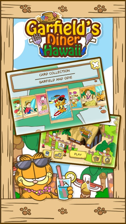 La fonda de Garfield Hawái HD screenshot-3