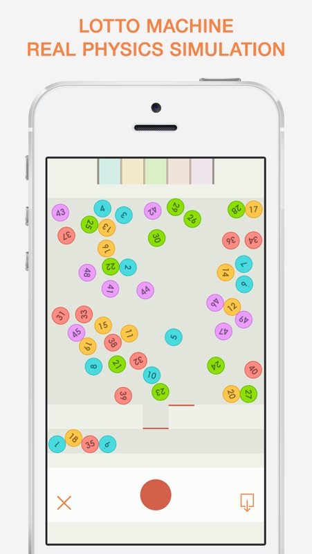 The Lottery - Lucky Numbers Generator and Simulator - Online Game