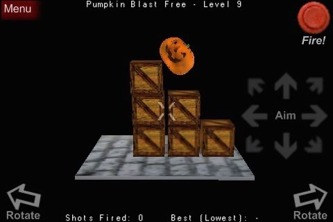 Pumpkin Blast Free screenshot-2