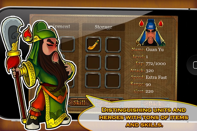 Three Kingdoms TD - Legend of Shu screenshot-3