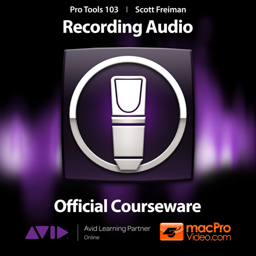 Course For Pro Tools 10 103 - Recording Audio