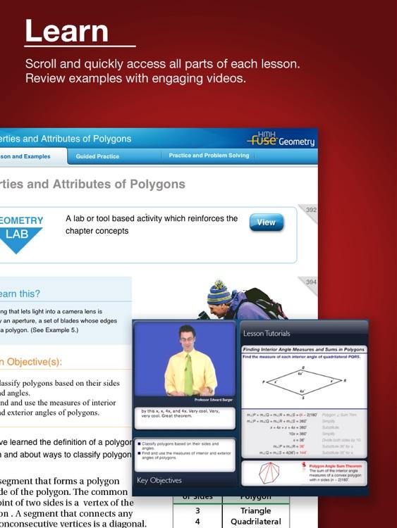 HMH Fuse: Geometry, Common Core Edition screenshot-3