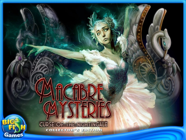 Macabre Mysteries: Curse of the Nightingale Collector's Edition HD