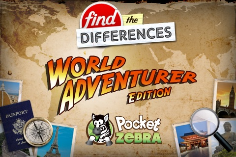 Find the Differences - World Adventurer Pro