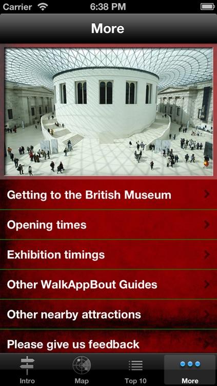 British Museum Audio Guide & Map screenshot-4
