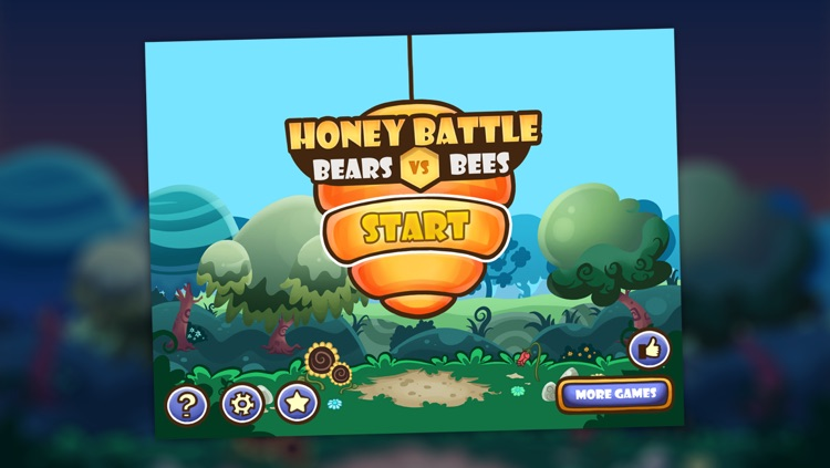 Honey Battle - Protect the Beehive from the Bears screenshot-3
