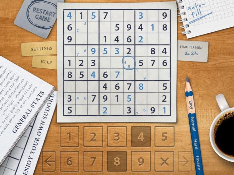 Sudoku HD for iPad screenshot-3