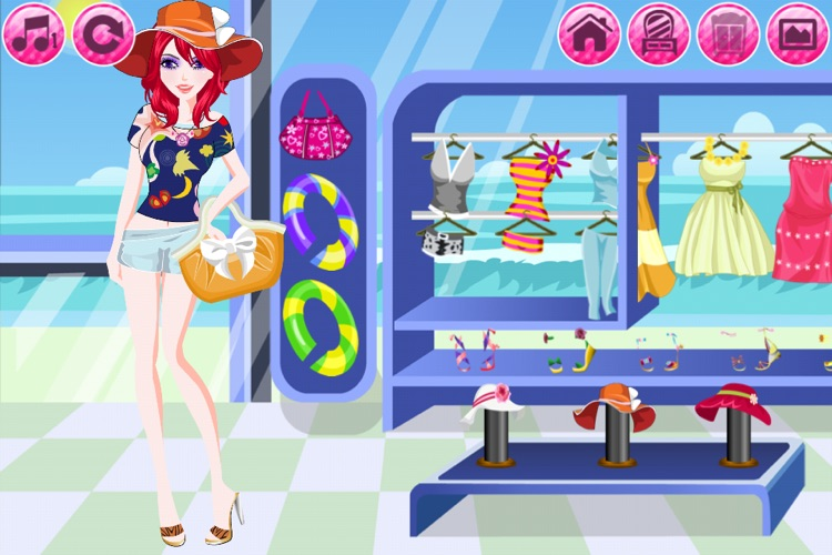 Beach Fashion Lite - Dress up and Makeup Game