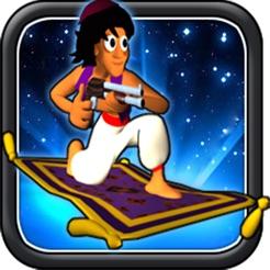 aladin und die Waffe (Action-Shooter Prinz Prinzessin zu retten)