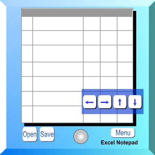Excel Notepad S блокнот