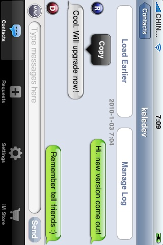 iMessenger - Real Communication for iPhone screenshot-3