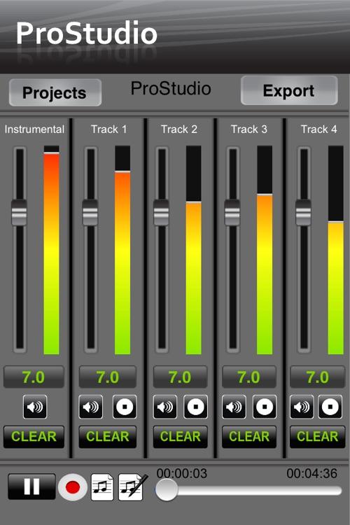 ProStudio - Music Recording App
