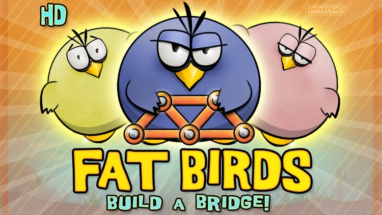Fat Birds Build a Bridge! HD screenshot-4