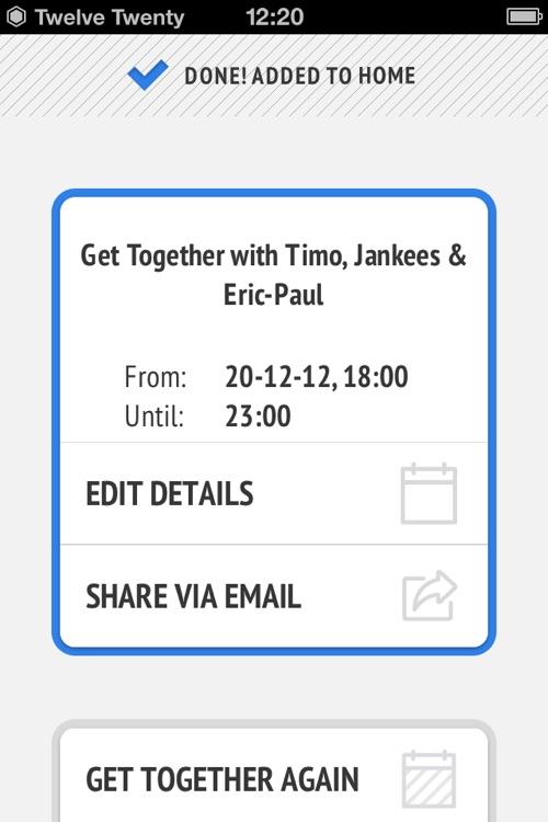 Get Together - by Twelve Twenty screenshot-4