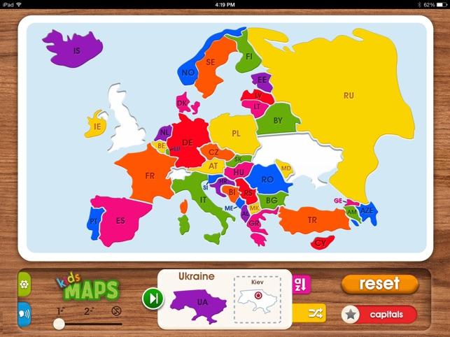 Kids Maps - Europe im App Store