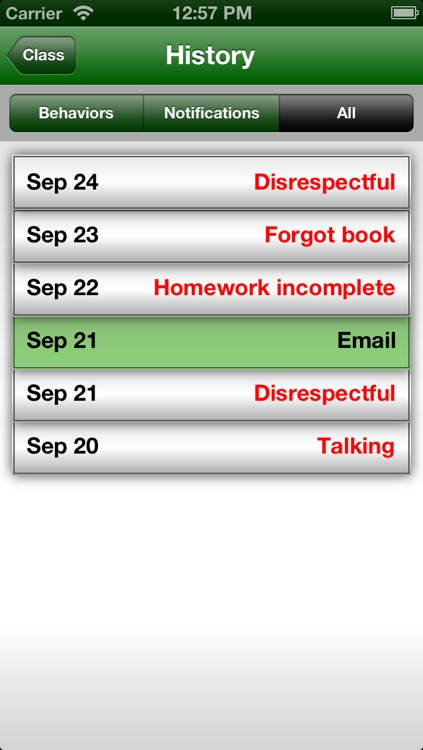 Easy Behavior Tracker for Teachers screenshot-4