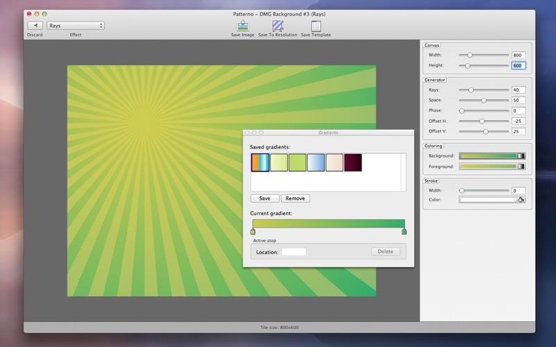 Patterno Screenshot