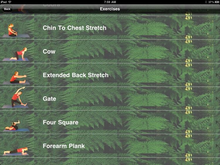 Pilates for iPad screenshot-4