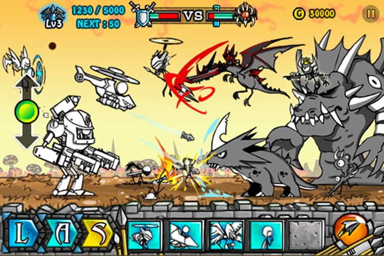 Cartoon Wars 2: Heroes screenshot-3