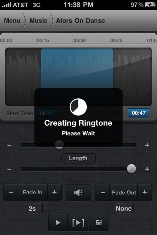 Create Ringtones! screenshot-4