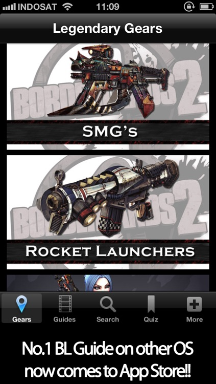 Gun Guide for Borderlands 2 Unofficial - Rare Legendary Weapons & Characters