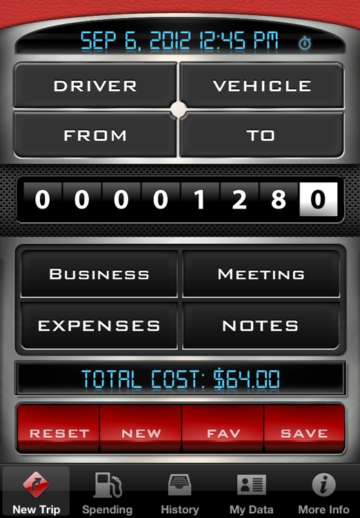 Mileage Log - Driving Distance Tracker
