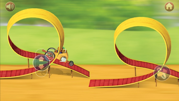 Franklin's Bumpy Buggy Race-Off screenshot-3