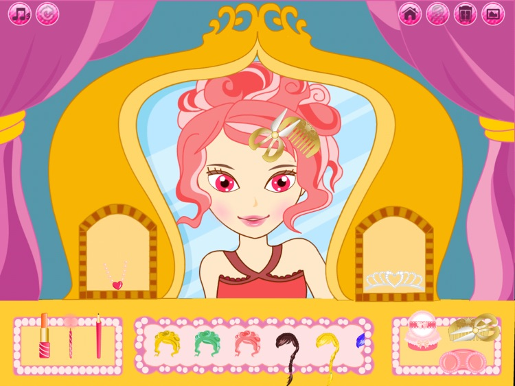 Beauty Princess HD: Dress up and Make up game for kids