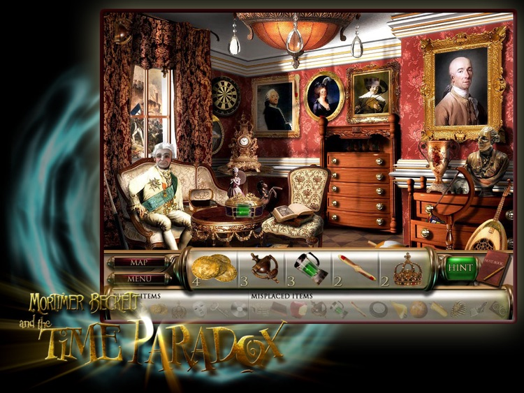 Mortimer Beckett and the Time Paradox for iPad LITE screenshot-3