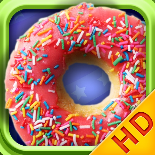 Donuts HD-Cooking games icon
