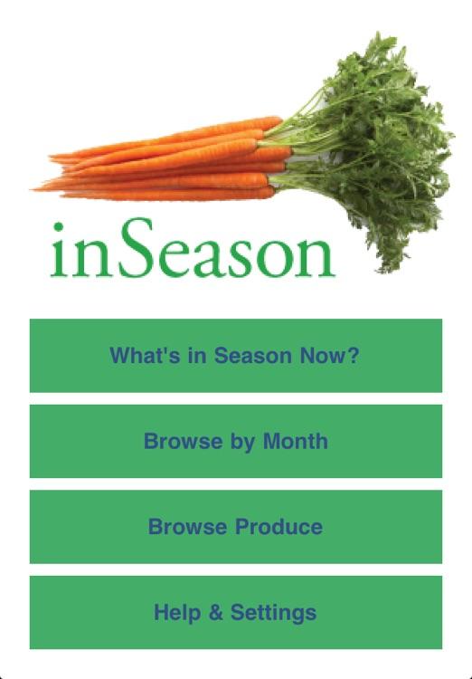 inSeason: Fresh Local Produce