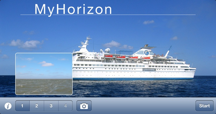 MyHorizon - Avoid sea sickness