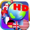 7 continents country flags game HD(Asia,Europe,Africa,Oceania,North America,Center America,South America)