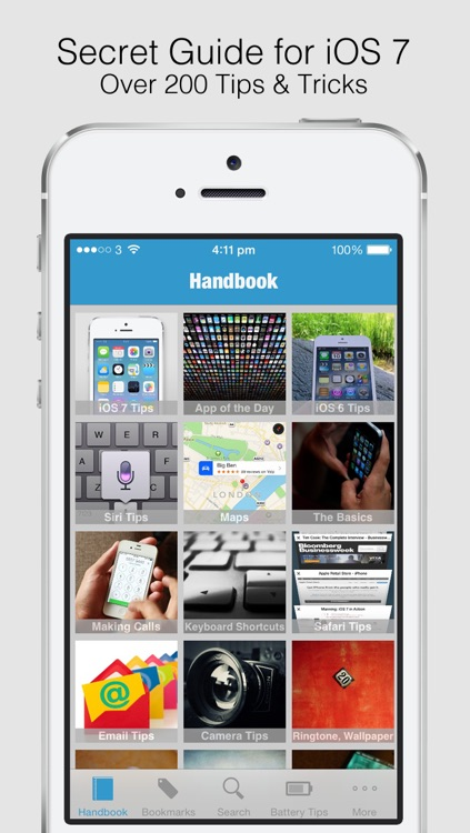 Secret Handbook for iOS 7 Lite - Tips & Tricks Guide for iPhone