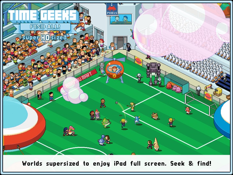 Time Geeks: Find All! HD screenshot-3