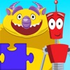 Monster Vs Robot Puzzle - Free Animated Kids Jigsaw Puzzles with Monsters and Robots - By Apps Kids Love, Inc! - iPhoneアプリ