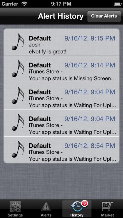 eNotify Free screenshot-3