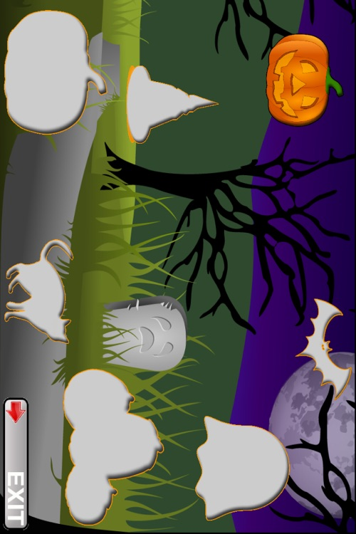 Toddler Puzzles Halloween screenshot-1