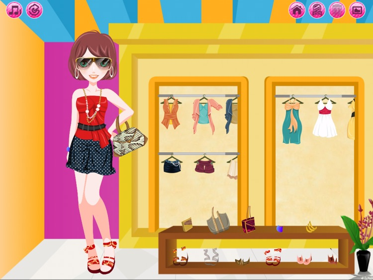 Cover Girl HD - Dress up and makeup game