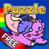 ゾンビ犬がにゃん -さめがめパズル&V系ホラーゆるきゃらとボカロ音楽ゲーム