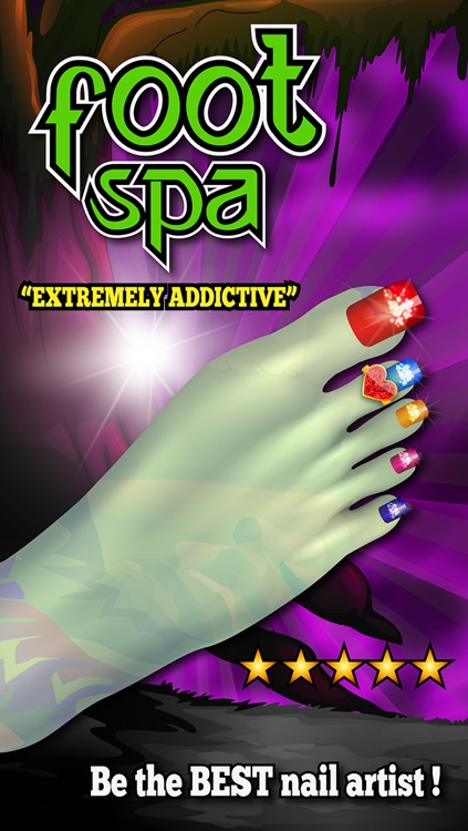 """Celebrity Foot Spa - Monster Nail Design by """"Fun Free Kids Games"""""""