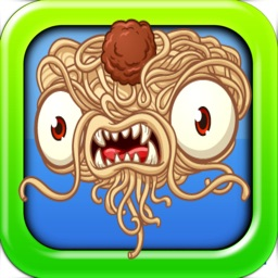 Pasta Meatball Monster vs Veggie Game - Crazy Kitchen Games