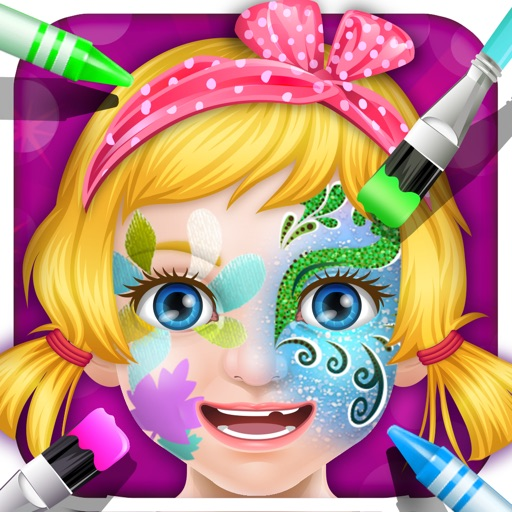 Princess Masquerade Makeup - girls games
